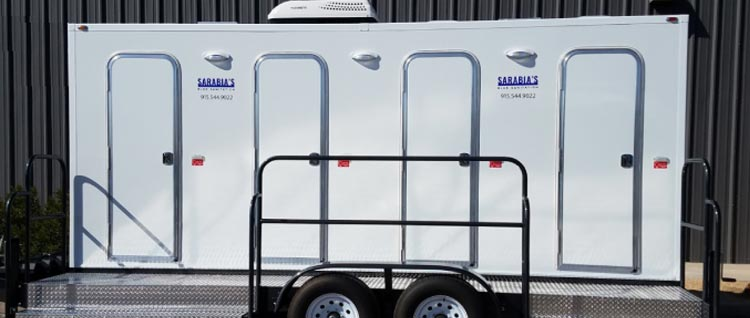 Luxury Portable Bathroom Trailers For Added Comfort Awesome Bathroom Trailers